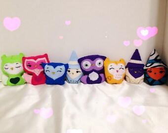 Surprise Plush Hoot Box - Cute Toy Kawaii Stuffed Animal