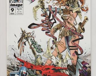 Spawn; Vol 1, 9 Modern Age Comic Book.  NM+ (9.6).  March 1993.  Image Comics