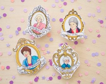 Golden Girls pin