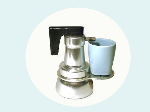 Italian Coffee Maker One Cup : Italian coffee pot espresso maker Caffe Rapid 1 cup aluminum