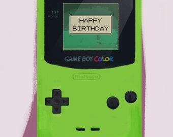 Gameboy BIRTHDAY