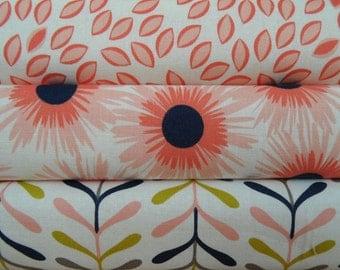 Arms Reach Mini Crib Sheets Organic Cotton Made for the Arms Reach Mini co series or Clear Vue/Cambria Navy soft coral peach gold white gray