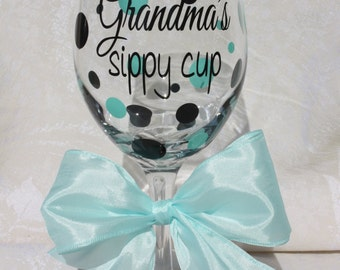 Grandma's sippy cup. Gift for Grandma. Great for Mother's day and New Grandmas! (item #1-3-GV)