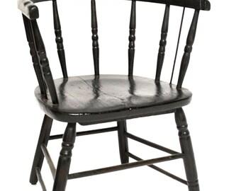 19th Century Antique Captain's Chair