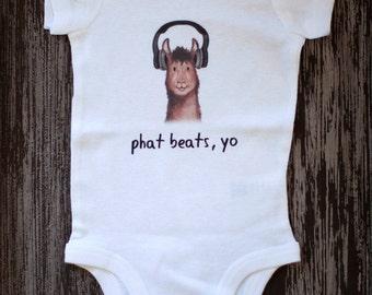 Llama Baby, Llama bodysuit, Hipster Baby, Funny Baby Bodysuit, Cute Baby Bodysuit, Kids clothes, Baby clothes, Alpaca shirt, Farm Animal