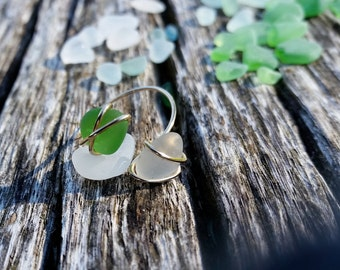 Wire Wrapped Ring, Wrap Ring, Sea Glass Ring, Sea Glass, Wire Wrapped Rings, Sea Glass Jewelry, Stone Wire Ring, Beach Glass Ring, Sea Glass