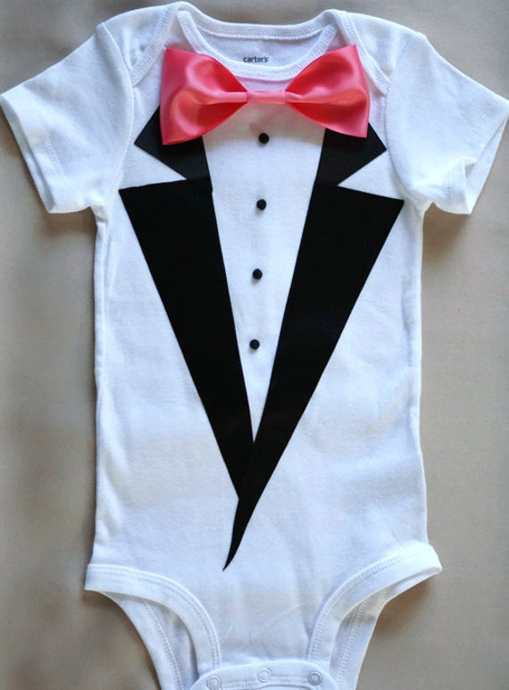 Baby Onesie Bodysuit Is An Essential Part Of Newborn Boys & Girls Clothes/Outfit. Perfect gift idea for baby shower. % Pre-Shrunk Cotton - Super Soft, Highest Quality Bodysuit. Irish Tuxedo.