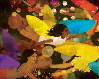 Beautiful Fairy Giclee Print