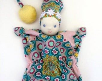Baby teething doll