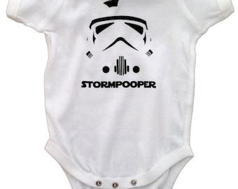Star Wars - Stormtrooper - Stormpooper - Funny Infant Bodysuit
