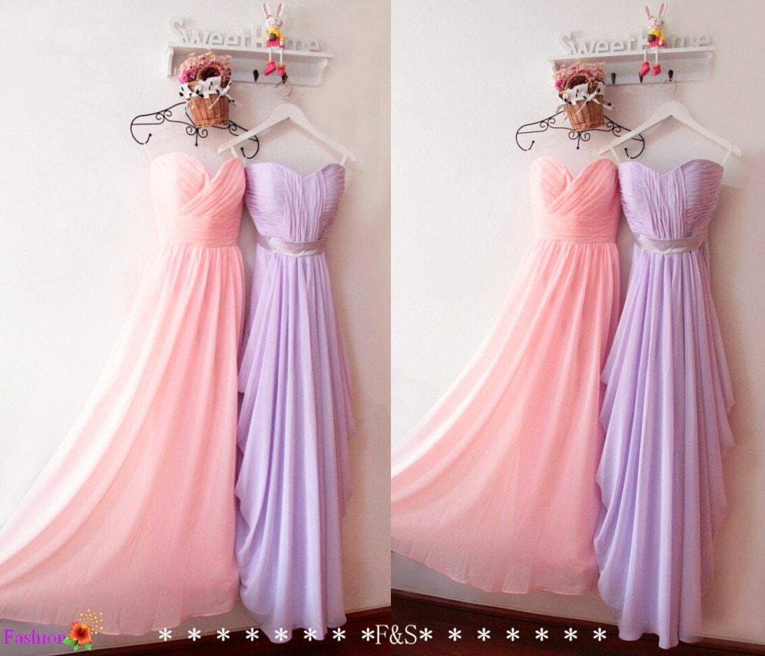 Blush pink bridesmaid dresspink bridesmaid dresslilac zoom ombrellifo Images