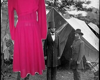 sheer plus size dress pink midi 12 14 extra large xl 1x
