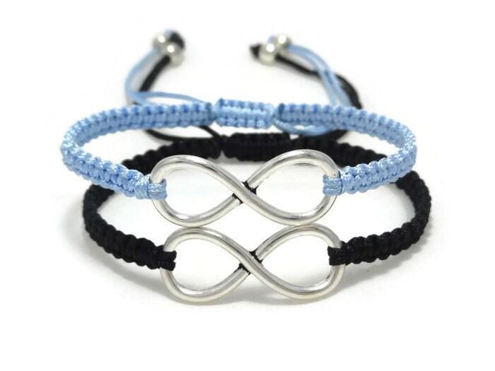 couples infinity bracelet friendship bracelet couples