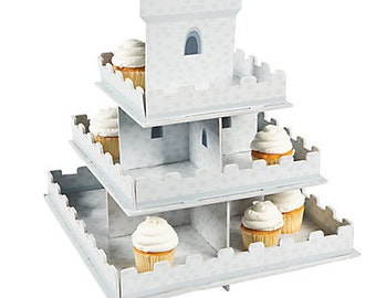 1/Knight's Castle Cupcake Display