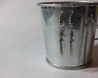 Medieval Sword Earrings