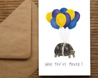 New Home Housewarming Tortoise | Greetings Card