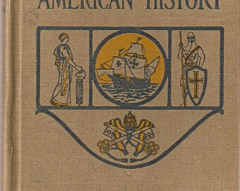 Vintage Textbook - The Old World and American History