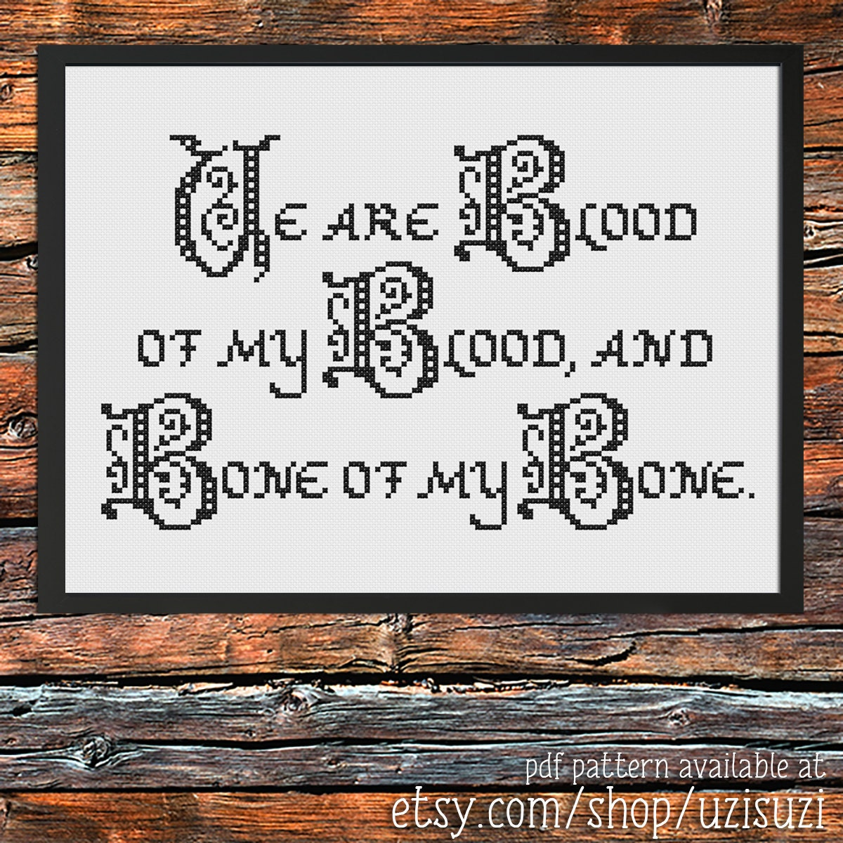 Blood Wedding Quotes: Outlander Quote Jamie Fraser Cross Stitch Pattern PDF By
