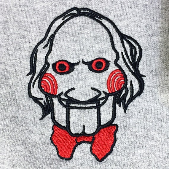 Embroidery Design Jigsaw Saw Billy The Puppet By
