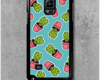 Samsung Galaxy Note 4 Case Cactus heart + Free Worldwide Delivery