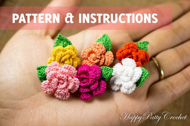 Mini crochet flower pattern manet for lighting mini crochet flower pattern bankloansurffo Image collections