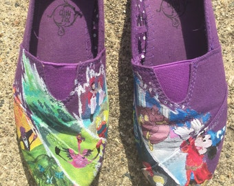 Fantasia and Fantasia 2000 Inspired Toms and off brand shoes