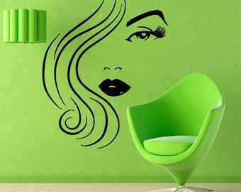 Hair Salon Wall Decor hair salon wall decals fashion wall words hairdressing beauty