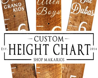 Height Chart.Measuring Stick.Wall Height Chart.Wood Height Chart.Kids Height Chart.Growth Chart.Kids Growth Chart (Custom Growth Chart)