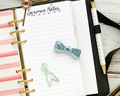 """Personal planner insert printable - Sermon Notes (measures 3.7""""x6.7"""")"""