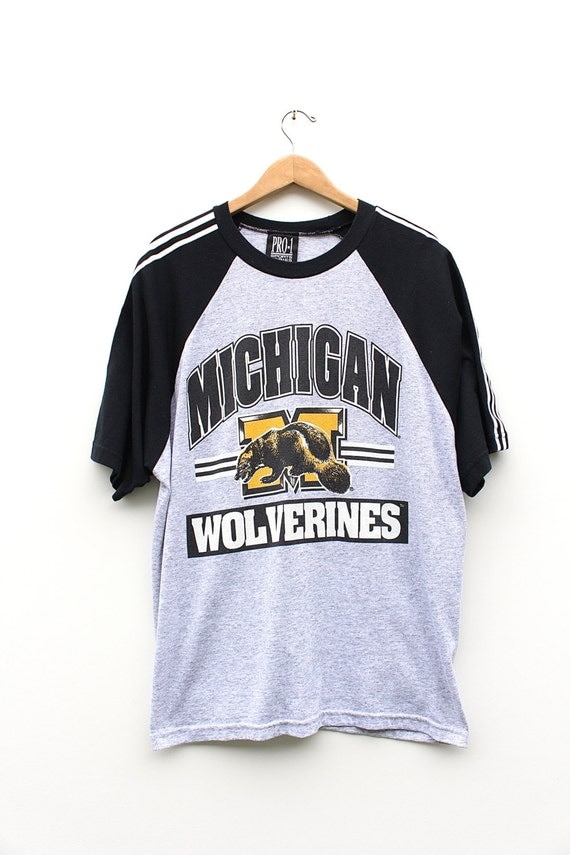 Vintage Michigan Wolverines T Shirt 80s 90s By