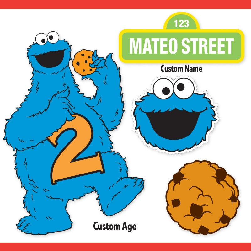 Tactueux image regarding cookie monster printable
