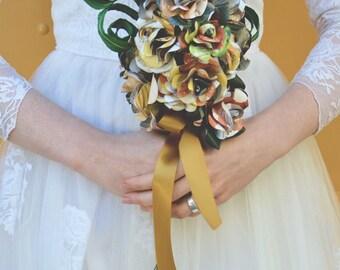 Retro Bridal Bouquet