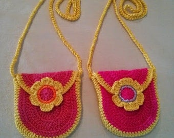 Girl's Crochet Purse