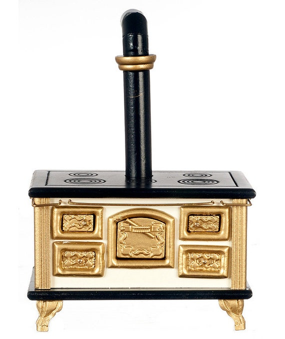 Old Fashioned Stove: 1:12 Scale Old Fashioned Fancy Stove