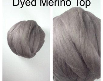 Mink Merino Top / Dyed Merino Felting / Dyed Merino Roving / 2oz 4oz 8oz