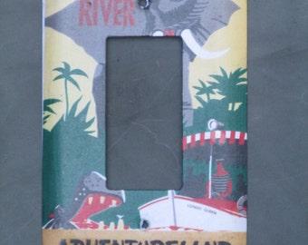 Disneyland's Jungle Cruise Light Switch Cover