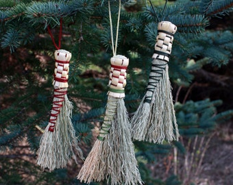 Traditional Broom Ornament