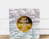 Best Female in a Supporting Role Card