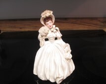 Beautiful Scarlett Figurine Florence Ceramics Pasadena California Large Figurine Fantastic Detail