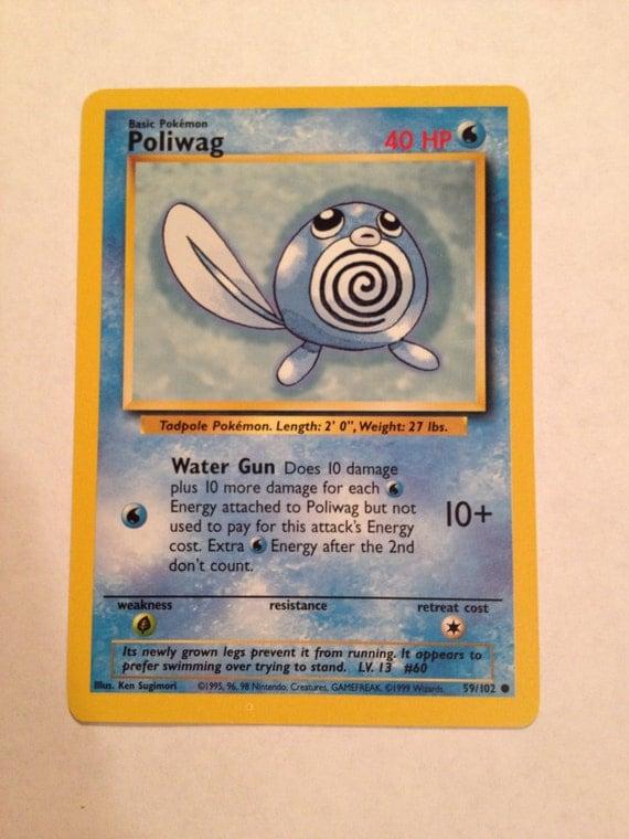 Furious Fists 15//111 Poliwag Reverse Holo Pokemon Card