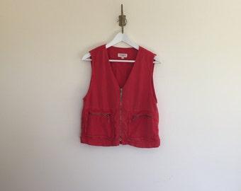 urban safari 90s jones of new york vest