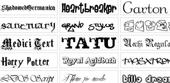 Download Fonts & SVG Files Vector Art for Silhouette / Cricut Design