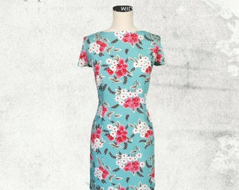 PDF Sewing Pattern Woman's Poppy T-Shirt Dress - D1402 Sizes 2-12