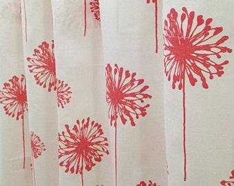 Dandelion curtains   Etsy