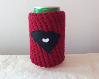 University of South Carolina Football | Columbia, South Carolina Crochet State Coozie, Beer Coozie, Reusable Coffee Cozy by Maroozi