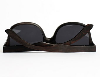 Natural Wood Sunglasses from Ebony by WOODEER