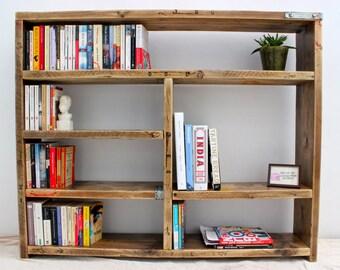 TRUMAN | Reclaimed Wood Bookcase - Handmade & Bespoke