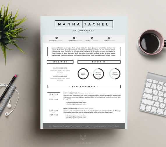 iwork 5 resume templates