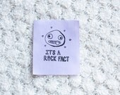 It's A Rock Fact- Handmade Over The Garden Wall Sew-on Patches