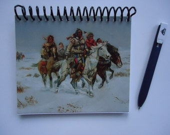 C. M. Russell Upcycled Native American Notebook